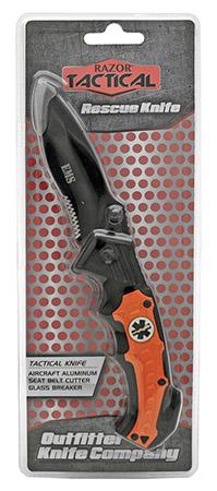''4.5'''' Spring Assist EMS Folding KNIFE - Orange''