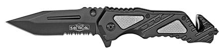 ''4.5'''' Spring Assist Folding KNIFE - Black''