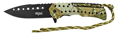"4.88"" Rtek Folding Pocket Knife - Outdoor Camo"