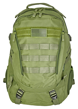 Athletic Backpack - Olive Green
