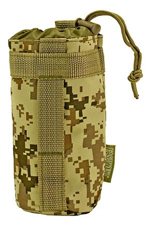 Tactical Water Bottle Holder - Desert Digital Camo