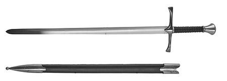 """41"""" Medieval Fantasy Sword"""