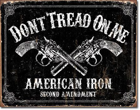 DTOM - American Iron Tin Sign