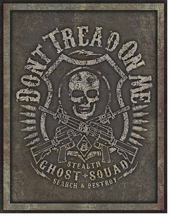 Ghost Squad Tin Sign