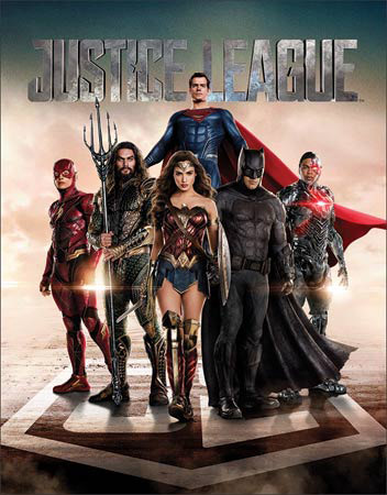 Justice League - Tin Sign