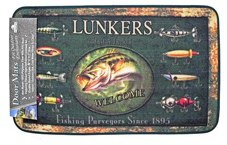 Lunkers FISHING Door Mat