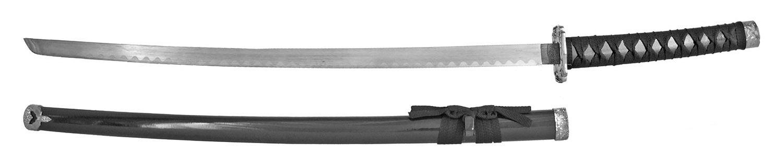 "37"" Traditional Samurai Sword - Black"