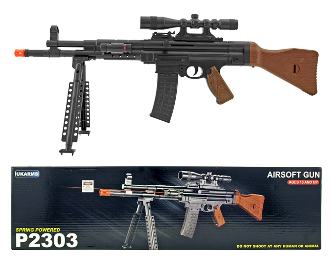 UKArms P2303 Replica WWII Spring Powered Airsoft Assault Rifle