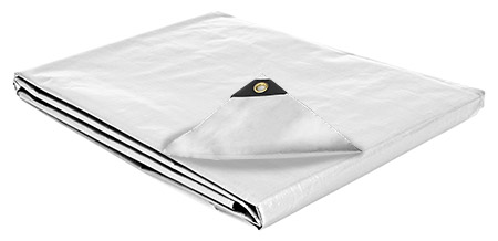 20 x 20 Heavy Duty Canopy Tarp - White