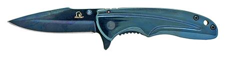 "3.75"" Stainless Steel Pocket Knife - Blue"