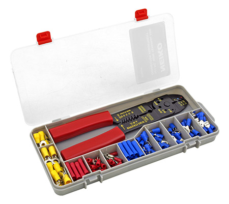 121 - pc. Wire Terminal and Connector Assortment