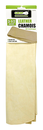 3.5 sq. ft.  Leather Chamois - Grip