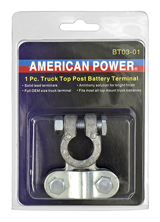 1 - pc. Truck Top Post Battery Terminal - American Power