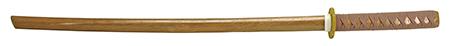 """40"""" Wooden Practice Samurai Sword - Traditional"""