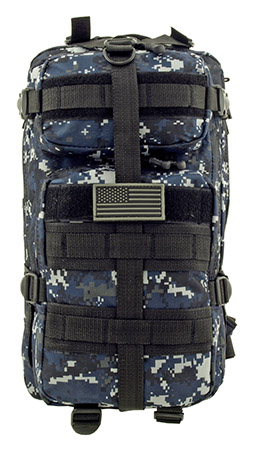 Sortie Mission Pack Tactical Backpack - Blue Digital Camo