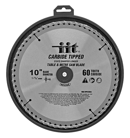 ''10'''' Carbide Tipped 60 Tooth Table and Mitre SAW Blade''