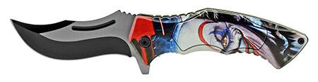 "4.75"" Carving Folding Pocket Knife - Joker"