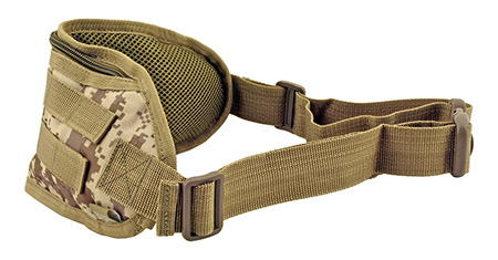 Tactical Fanny Pack Hip Bag with Molle Strap - Desert Tan Digital Camo