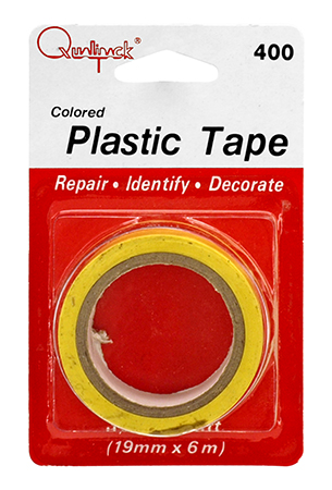"""20' - Colored Plastic (Electrical) Tape - 3/4"""""""