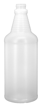 32 oz. Round Spray Bottle with 28/400 Neck