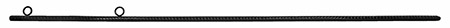 "53.5"" Re-Bar Stake - Black"