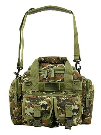 Mini Duffle Carry On Travel Gym Bag - Green Digital Camo