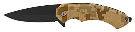 "5"" Classic Spring Assisted Folding Pocket Knife - Desert Digital Camo"