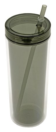 Tumbler Water Bottle with Straw - Comes in Assorted Colors