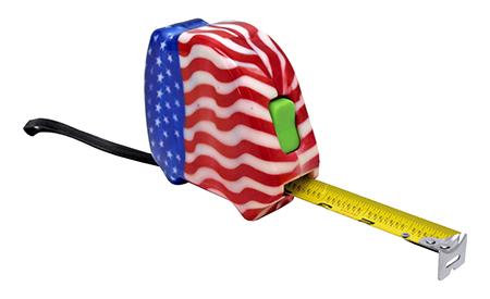 25' American Flag Tape Measure