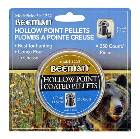 Beeman Hollow Point .177 Cal Pellets - 250 Ct.