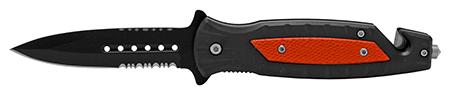 """4.75"""" Ultimate Survival Folding Pocket Knife - Red"""