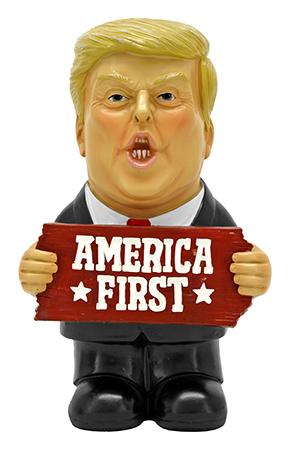 "9.25"" Make US Great - Trump Figurine"