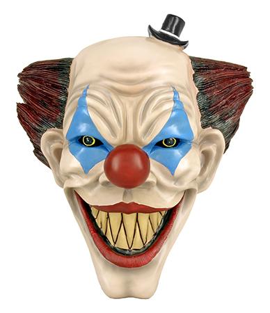 """15.25"""" Killer Clown Creeper Bust Wall Mount"""