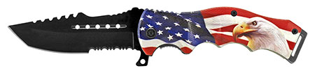 "4.75"" American Artist Folding Pocket Knife - American Eagle"