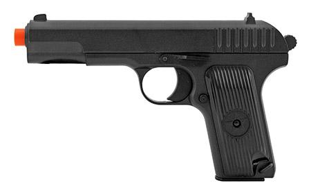 UK Arms G33 Spring Powered Airsoft BB Pistol Handgun - Black