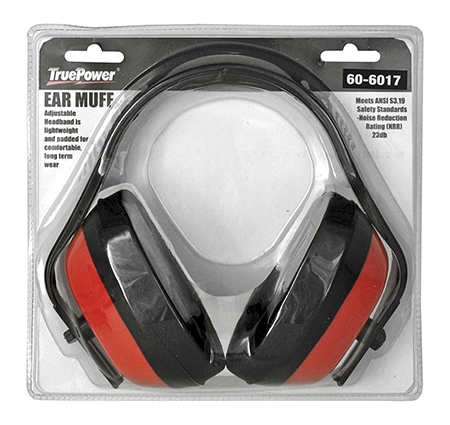 Adjustable Working Ear Muff Protection - True Power