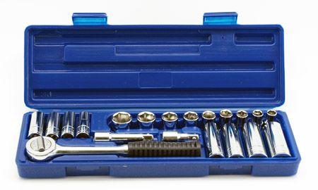 "21-pc. 3/8"" Drive Professional Metric Socket Set"