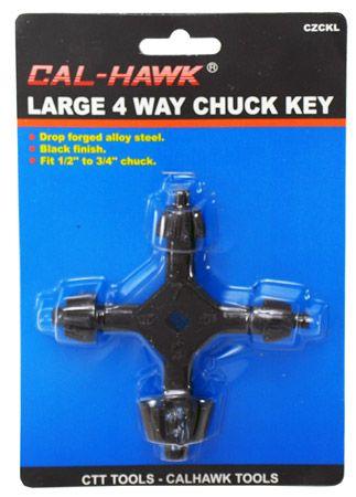 4-Way Chuck Key - Large