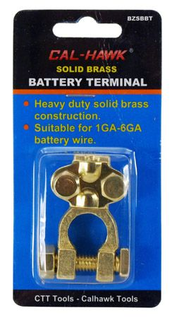 Solid Brass Battery Terminal