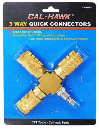 3 Way Quick Connector