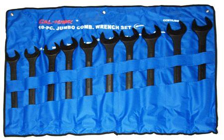 10-pc. Jumbo Combination WRENCH Set - Metric