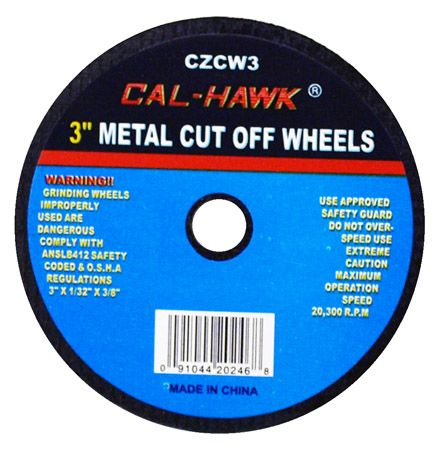 "3"" Metal Cut-Off Wheel"