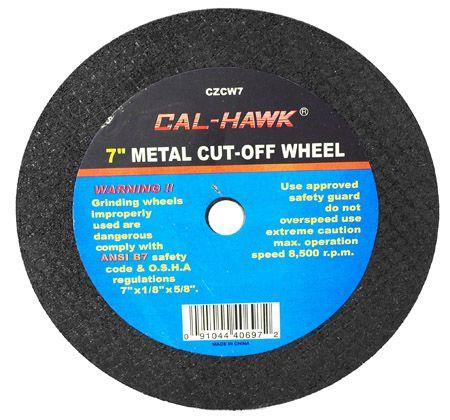 "7"" Metal Cut-Off Wheel"