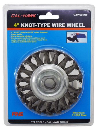 "4"" Knot-Type Wire Wheel"