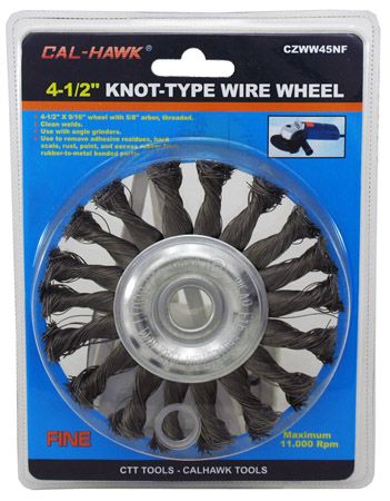 "4-1/2"" Knot-Type Wire Wheel"