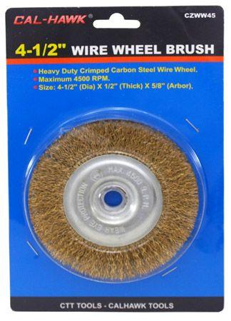 """4-1/2"""" Wire Wheel Brush"""