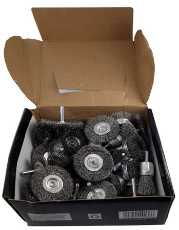 40-pc. Wire Wheel Brushes