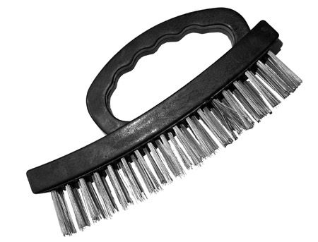 ''7'''' Plastic SHOE Handle Wire Brush''