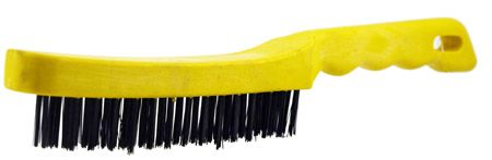 "11"" Plastic Handle Wire Brush"