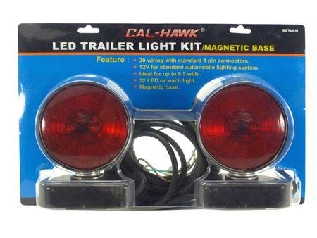 LED Trailer Light Kit w/ Magnetic Base